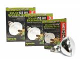 Komodo Solar D3+ Bulb 80w & 125w. Heat and UVB in one - FREE POST